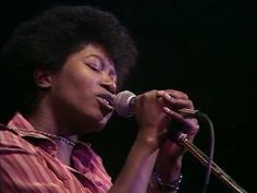 "Joan Armatrading singing Willow in 1977. ""If you want to be alone, or someone to share a laugh, whatever you to do all you've got to do is ask."""