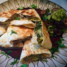 "Black Bean Quesadillas, my road back to being ""mostly"" Vegetarian"