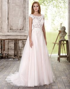 Fara Sposa Felisa Gown at Peter Trends