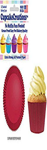 Burgundy Cupcake Papers Standard Muffin Liners  32 count ** You can get additional details at the image link.(This is an Amazon affiliate link and I receive a commission for the sales)