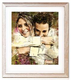 Couples Portraits | Anniversary Gift Ideas | Wedding Portraits