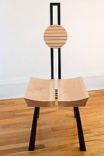 Japanese Inspiration by Nathalie Guez (Wood Chair)