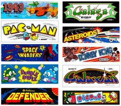 1980's Arcade Games