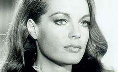 Deutsche Schauspielerin Romy Schneider.