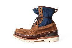 visvim Grizzly Boots Mid-Folk Spring/Summer 2012