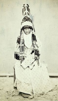 1871/72. A woman in шокуло
