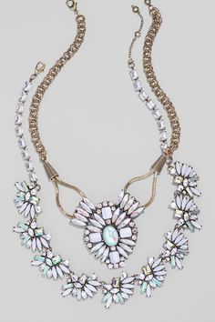 BaubleBar Statement Necklaces! Add a statement necklace to any outfit to avoid the dreaded wardrobe rut without a full closet overhaul.