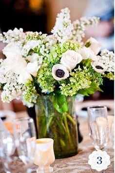 pale pink w/ black center flower- moments in time floral design
