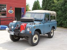 // Land Rover Series 3- Great purist rig.