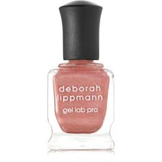Deborah Lippmann Gel Lab Pro Nail Polish - Stargasm (98 MYR) ❤ liked on Polyvore featuring beauty products, nail care, nail polish, pink, gel nail color, gel nail polish, gel nail varnish, deborah lippmann nail lacquer and deborah lippmann nail polish