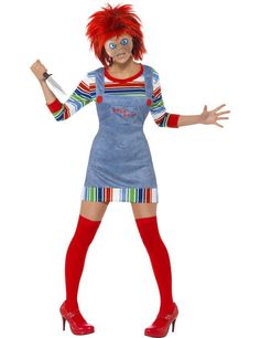 Adult Miss Chucky Halloween Costume