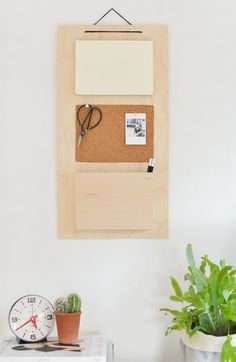 Organizador de pared DIY