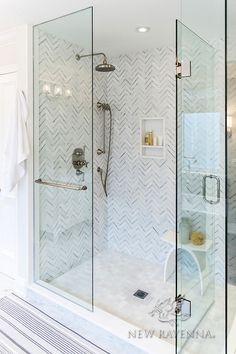 Bathroom Renos, Bathroom Interior, Small Bathroom, Master Bathroom, Condo Bathroom, Bathroom Ideas, Home Luxury, New Ravenna, Beautiful Houses Interior