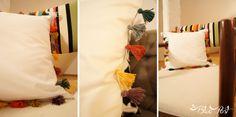DIY Coletivo: Almofada de tassels