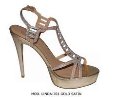 LINDA-701 GOLD SATIN