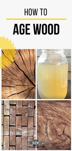 How to Age Wood: Get a Vintage Look without the Wait Achieve a beautiful patina for your wood to use for your woodworking projects. Not everybody has access to fine weathered wood, so learn how to fake it with our guide on how to age wood like a DIY pro.
