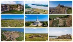 Încă de la primii pași în orașul Constanța alături de ghidul Diana Slav, ni s-a oferit o incursiune asupra istoriei și vechimii acestor meleaguri. E important să știm, atunci când călătorim printre aceste locuri, ce importanță au avut ele de-a lungul timpului.    În parcul din centrul Constanței se află o hartă pe care sunt trasate Romania, Monument Valley, Nature, Travel, Naturaleza, Viajes, Traveling, Natural, Tourism
