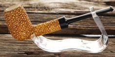 Rustic Classic Block Meerschaum Pipe by Tekin |DIAMOND SERIES