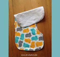 Anleitung zum Spucktuch nähen - einfach aus Stoffresten schnell genäht - praktisch für Babys