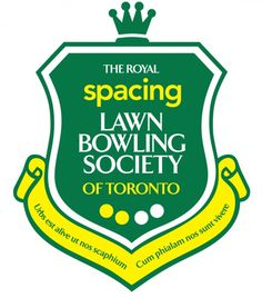 The Royal Spacing Lawn bowling society logo