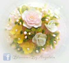 Jelly art pudding 3d Jelly Cake, Jelly Flower, Jello, Pudding, Dessert, Flowers, Design, Art, Gelatin
