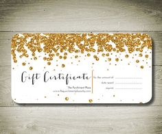 printable gift certificates | This is another printable gift ...