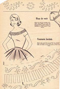 Boulevard de L'antique ~ 1956 Fashion Trends