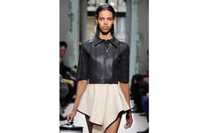how to make black leather spring/summer appropriate? consider cut when wearing seasonal skin on skin. my picks for SELF magazine...