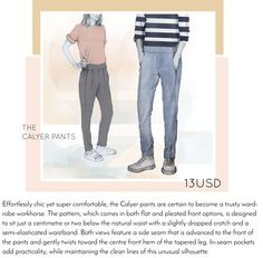 Calyer Pants by French Navy