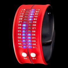slap bracelet that tells time!
