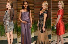 Τι φόρεσαν οι stars στο πάρτι του Vanity Fair Bridesmaid Dresses, Prom Dresses, Formal Dresses, Wedding Dresses, Vanity Fair Oscar Party, Red Carpet, Awards, Dress Up, Fashion Looks