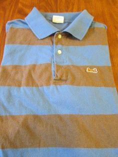 Vintage LE TIGRE MED Polo BLUE/ GRAY