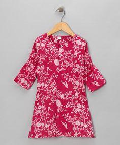 fe8838cbc21 Alejandra Kearl Designs Fuchsia Birdie Dress - Infant   Toddler