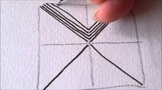 How to draw tanglepattern Xircus