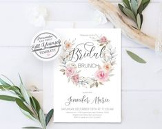 Printable Bridal Sho