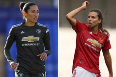 Christen Press and Tobin Heath react to their shirts outselling EVERY Man Utd men's player in the first three days