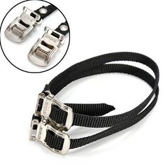 Fixed Gear Bike Bicycle Pedal Toe Straps Foot Straps Binding Band ** Check out this great product.