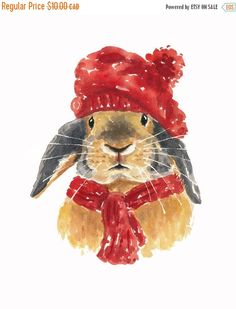 """Winter Rabbit"" by Deidre Wicks (11/30/15)"
