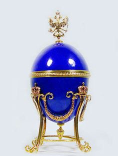Faberge egg (Did you know?...Gustav Fabergé's paternal ancestors were Huguenots, originally from La Bouteille, Picardy, who fled from France after the revocation of the Edict of Nantes, first to Germany near Berlin, then in 1800 to the Baltic province of Livonia, then part of Russia.)