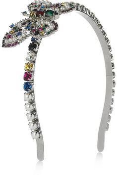 3cccbeeed20 Plexiglass crystal butterfly headband from MiuMiu Crystal Headband