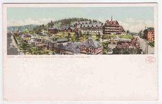 Panorama Hot Springs Arkansas Detroit Pub postcard | eBay