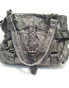 b645db80c28 Dark Gray Imitation Leather Distressed Soft Converse One Star Studs Buckles  #ConverseOneStar #Handbagorshoulderbag Beauty