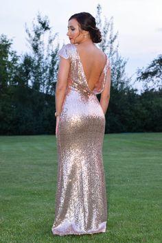 Super Glamorous Evening Dress