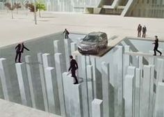 cool optical illusions by Honda