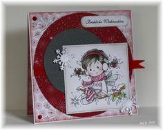 made by Juny84: noch eine Weihnachtskarte