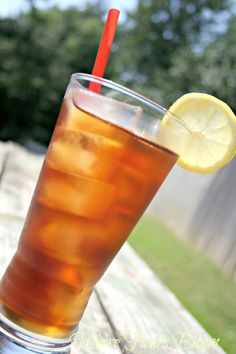 Best sweet tea ever. Every southern girl needs a go to tea recipe.