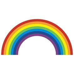 Rainbow Wall Sticker by SpinCollectiveUK on Etsy