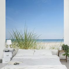 Fototapete Strand - Ostseeküste - Vliestapete Quadrat