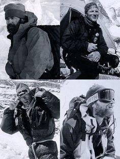 Rob Hall, Scott Fischer, Anatoli Boukreev, and Jon Krakauer - Into Thin Air Illustrated Edition (Jon Krakauer) book This Day in History: May Death on Mount Everest. Jon Krakauer Books, Rob Hall, Monte Everest, Mountain Climbers, Top Of The World, Mountaineering, Rock Climbing, Trekking, Wilderness