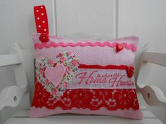 Your place to buy and sell all things handmade How To Make Something, Cushion Tutorial, Pink Crafts, Lavender Scent, Gemstone Colors, Be My Valentine, Pin Cushions, My Favorite Color, Buntings